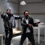 Nicolas Cage standing in a room