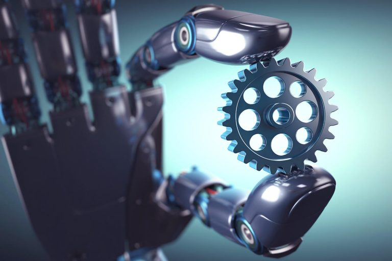robot gear automation